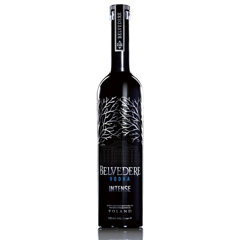 BELVEDERE BLACK UNFILTERED 700ML